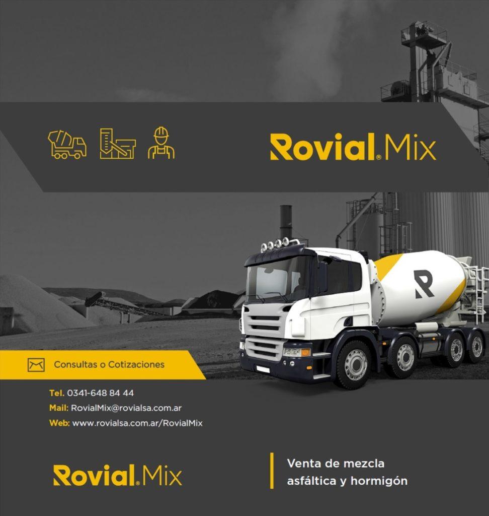 Rovial Mix / Mezcla Asfáltica y Hormigón Elaborado